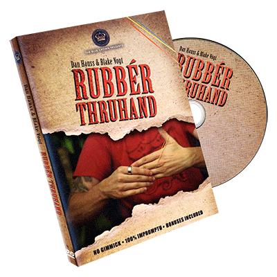 Rubber Thru hand by Dan Hauss & Blake Vogt - DVD | Magic book ...