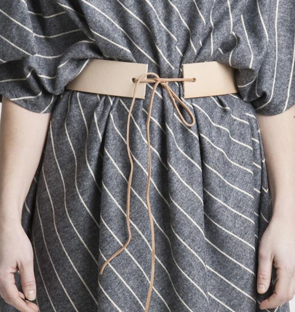 leather belt - RTIF: Nahka Design by T.P.