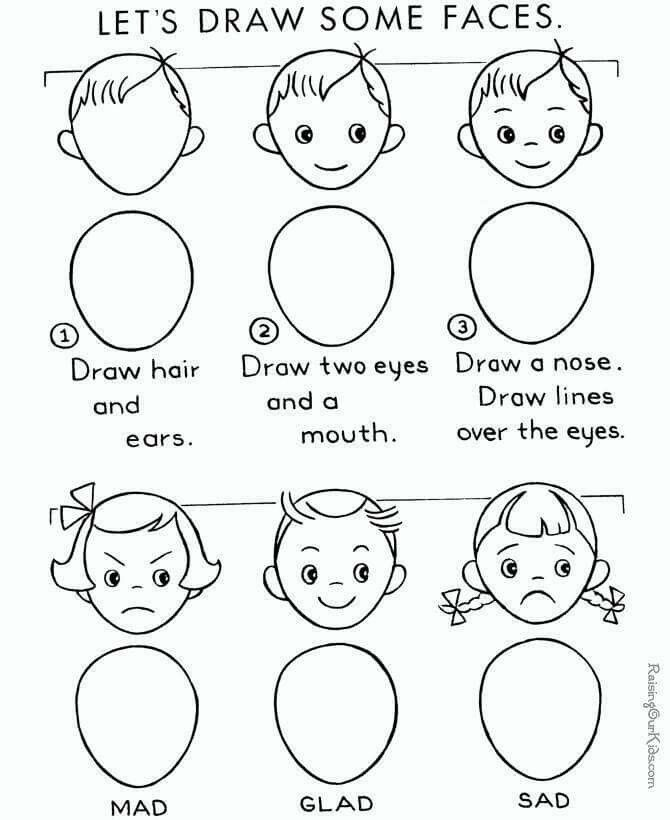 How To Draw A Face Drawing Painting How To Drawings Drawing