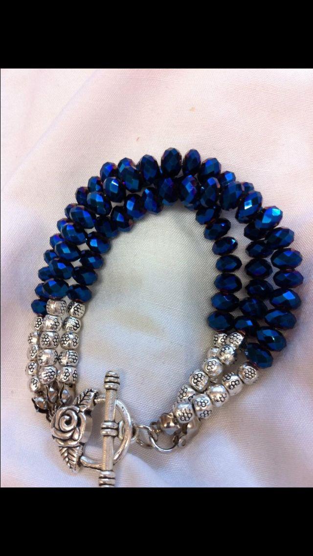 "Ruby Gemstone Bracelet Argent Sterling 925 Fermoir 7.5/"" Naturel Multi Sapphire"