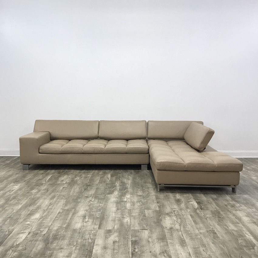 Pin by MarketSquare on Sofas | Tan leather sectional, Leather ...
