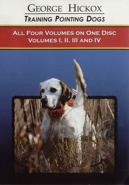 D T Systems Pointing Dog Dvd Collection Vols 1 4 D050 Dogs