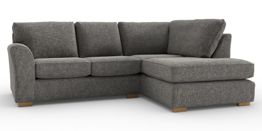 Buy Michigan Tailored Comfort Corner Chaise Right Hand 4 Seats Tweedy Blend Dark Grey Slim Bloc Sitting Room Decor Corner Sofa Living Room Corner Sofa Next
