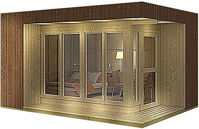 Amazon Com Allwood Arlanda Jr 157 Sqf Studio Cabin 400 x 300