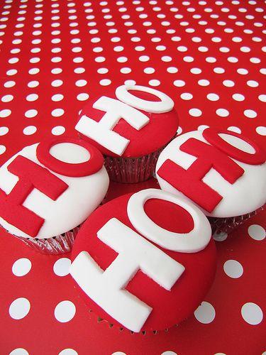 ho ho cupcakes
