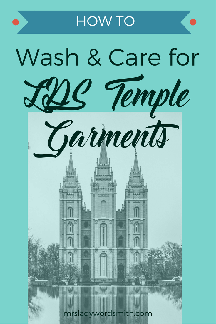 Are Your Lds Temple Garments Dingy Youve Probably Been Washing