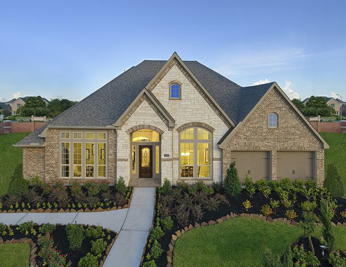 Perry Homes - Shadow Creek Ranch Model Home Design 3714W