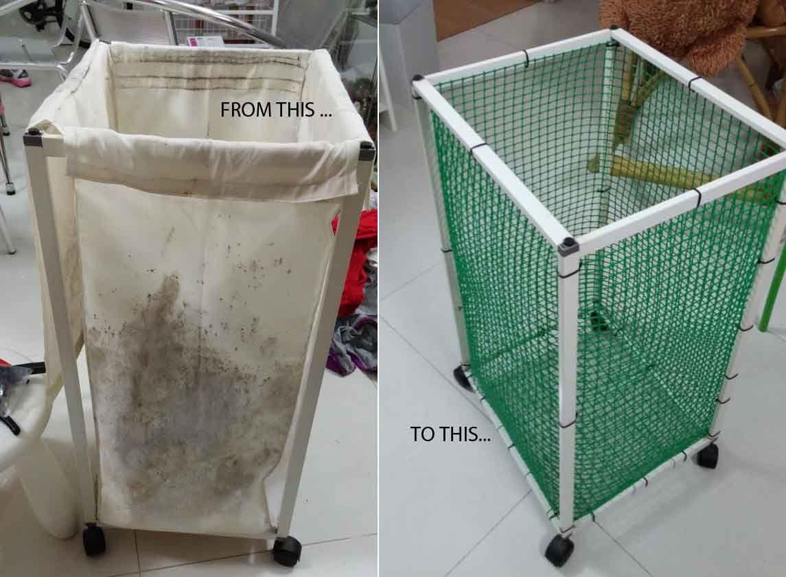 How I Saved My Antonius Laundry Bin Ikea Laundry Basket Ikea