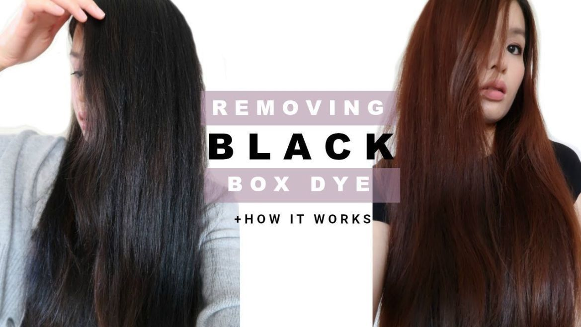Removing Permanent Box Dye In Hair & Why It Worked Easy