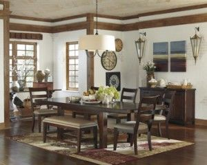 Ashley Furniture Hindell Park RECT Dining Room EXT Table