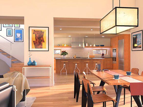 Planos de casa de dos pisos, diseño de vivienda que impresiona a ...