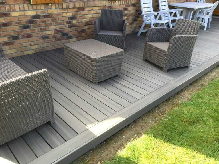 terrasse-composite-xtrem-02 House Pinterest Decking and House - construction terrasse en bois sur parpaing
