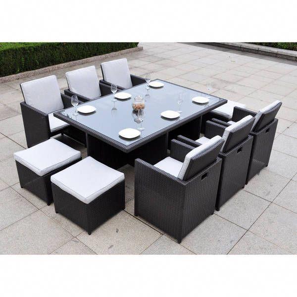 Pergola Designs Costs: Wellfleet 11-piece Dining Table Set #pergoladesigns