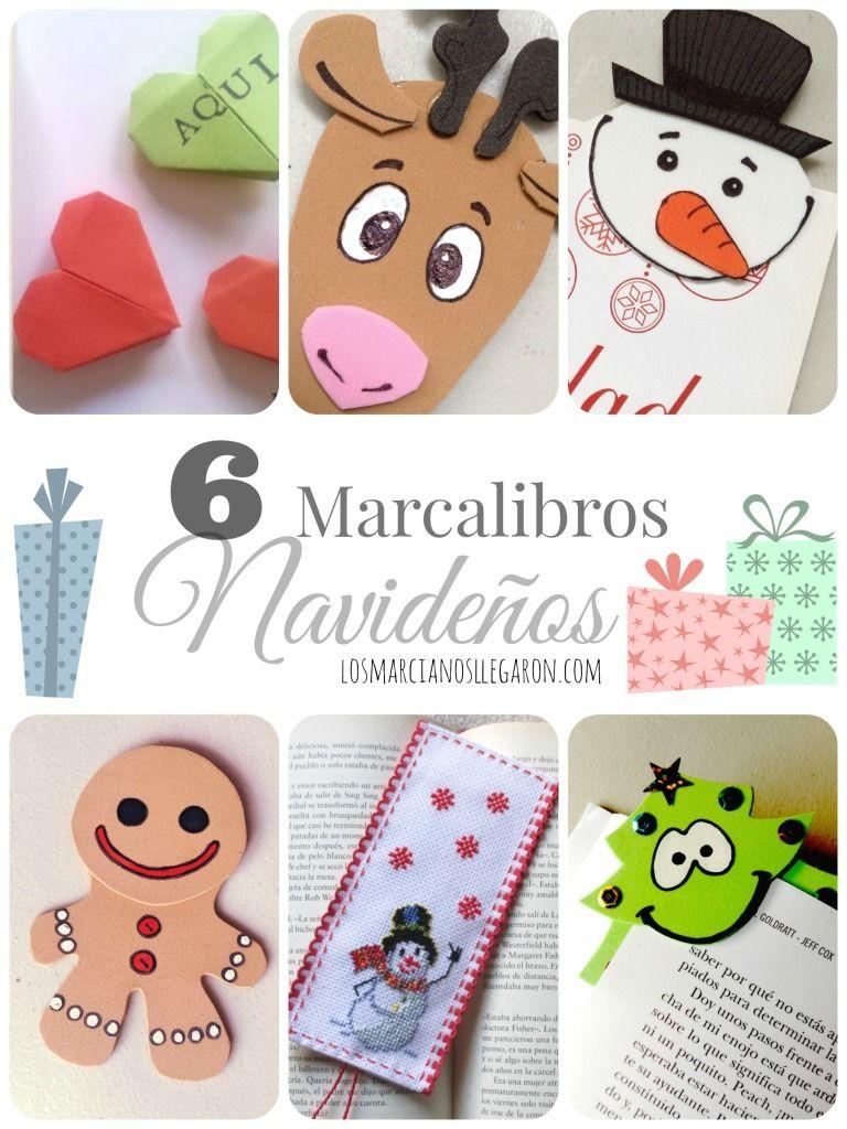 Marcalibros Como Lindos Regalos Para Navidad Navidad - Ideas-para-regalar-en-navidad-manualidades