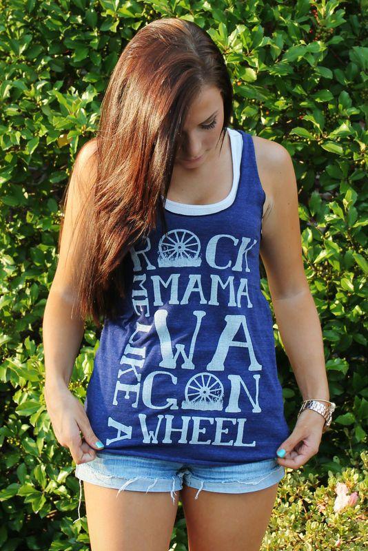 Rock Me Mama Like a Wagon Wheel