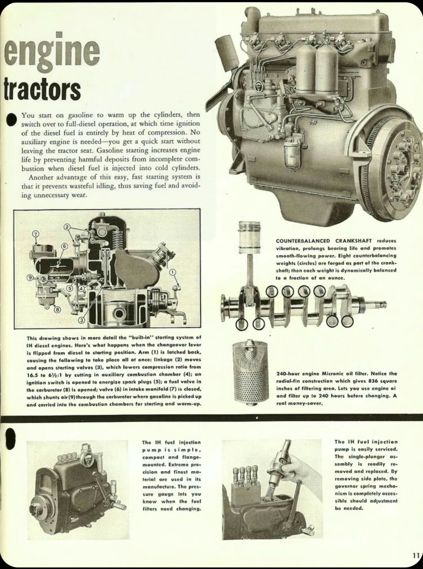 Pin By Jerry Brown On Diesel Engine Old Tractors Tractors Case