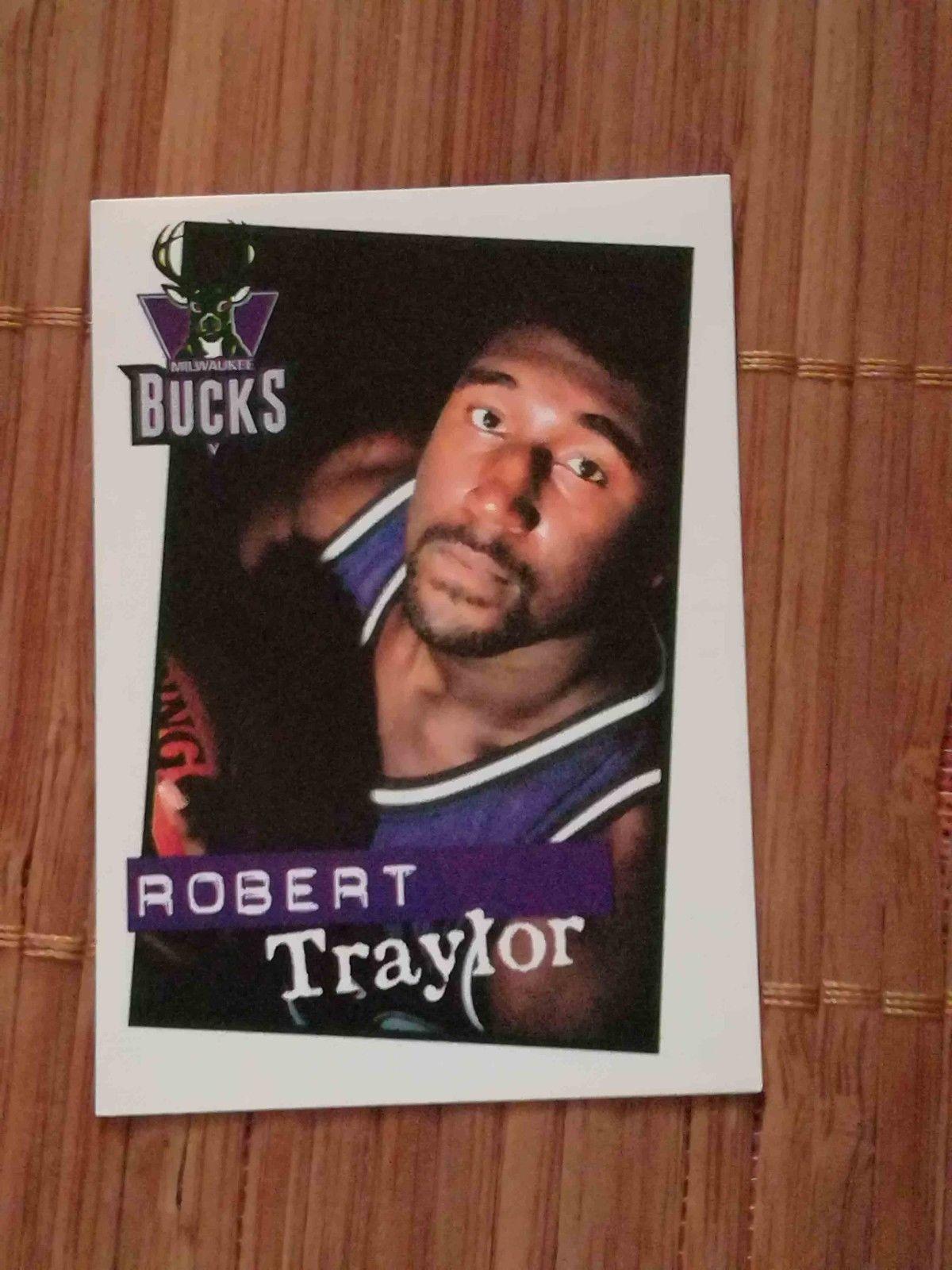 Robert Traylor Milwaukee Bucks Sticker 155 Panini Basketball 1998 1999 Nba 98 99 Ebay Milwaukee Bucks Milwaukee Sports Cards [ 1600 x 1200 Pixel ]