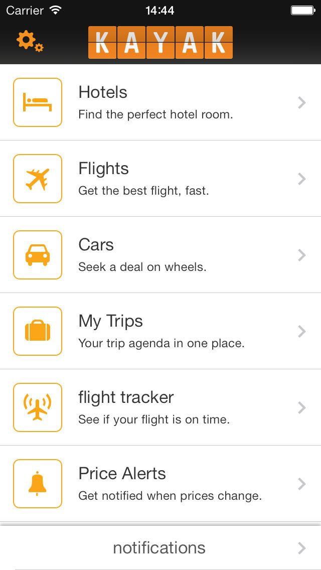 Kayak Pro Flights Hotels Cars Travel App Kayak Flights Best Travel Websites