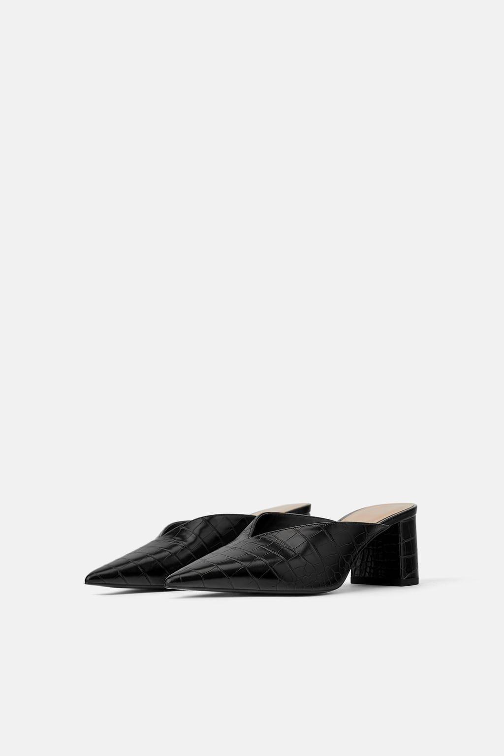 f6c49b0df78 Animal print v vamp high-heel mules in 2019 | Products I Love ...