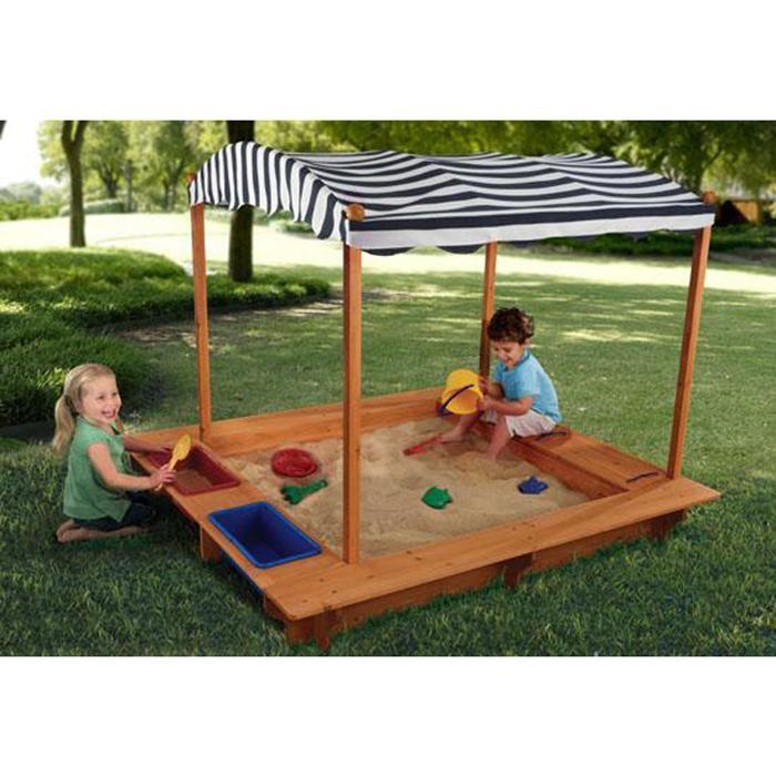 Kids Outdoor Sandbox with Canopy | Nebraska Furniture Mart