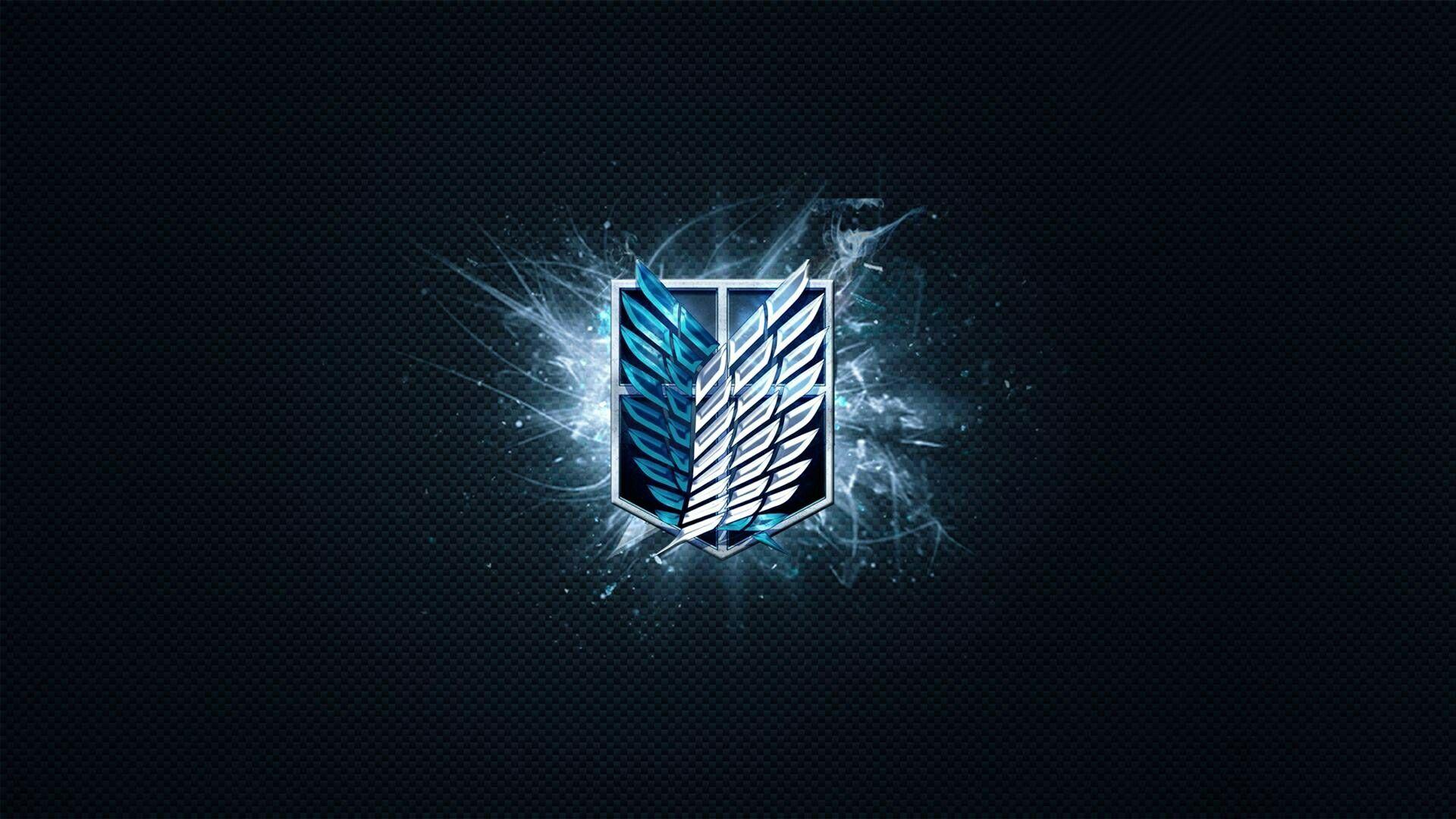 Scouting Legion Attack on titan, Titan logo, Attack on