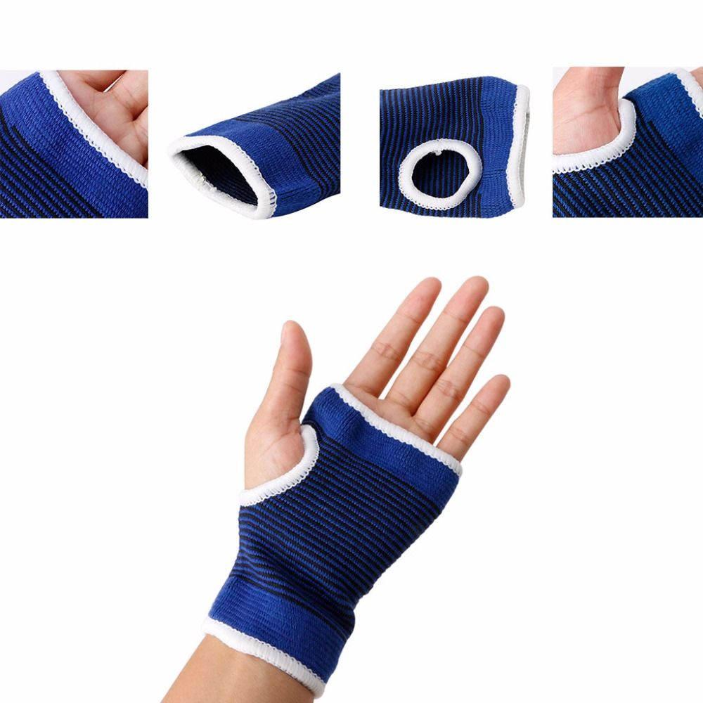 Brace 2Pcs Elastic Wrist Hand Support Breathable Protective Gear Bandage Support