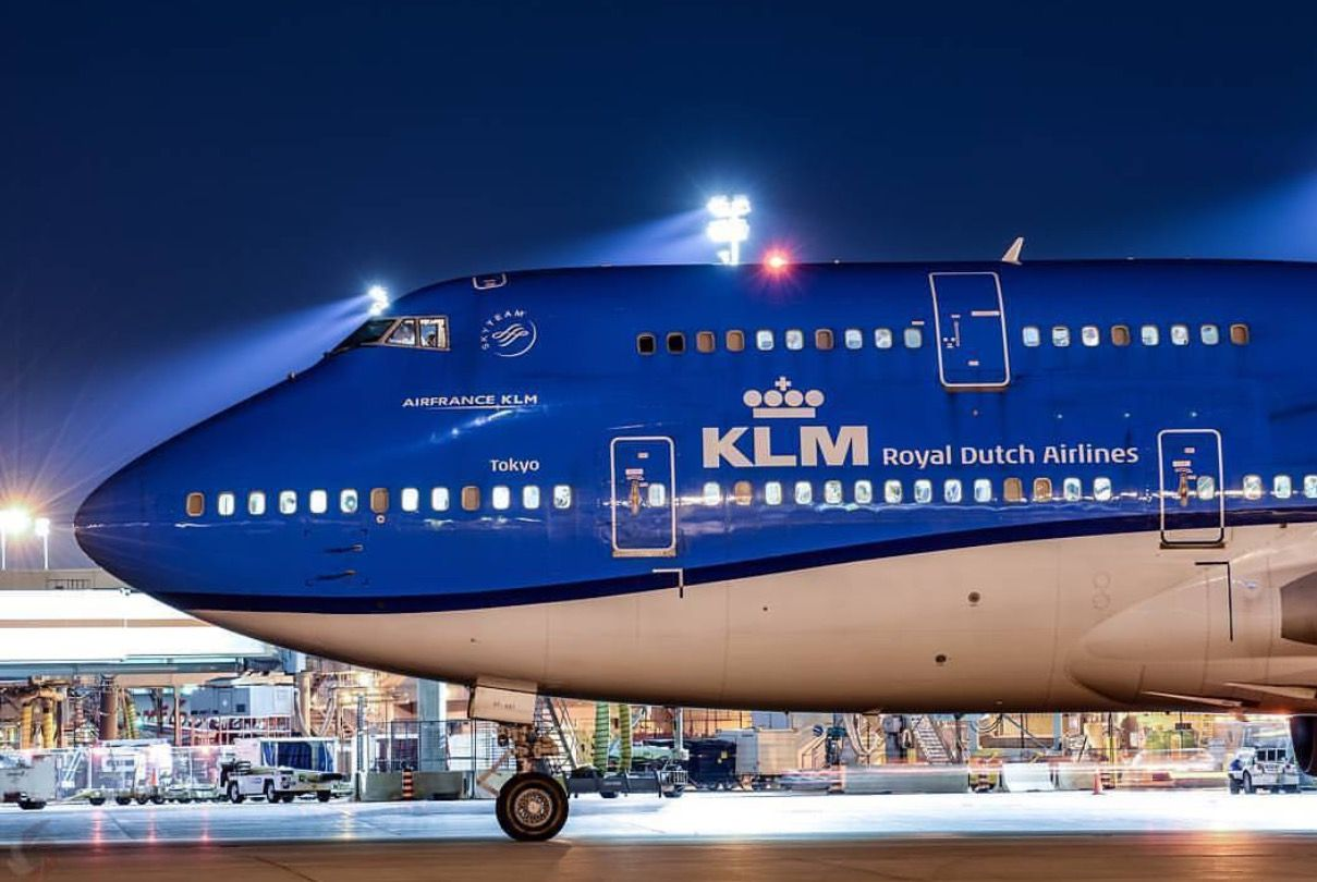 Klm Royal Dutch Airlines Boeing 747 406m Boeing Aircraft Passenger Aircraft Aviation Airplane