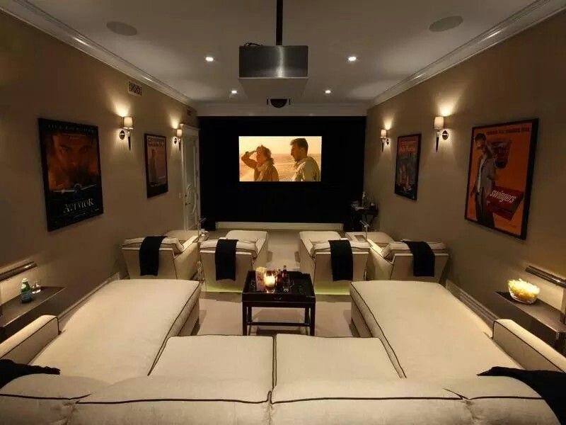 Media Room Daybed Sofas A Nice Touch Home Theater Seating Home Theater Design Home Theater Rooms
