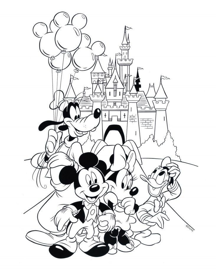 Disneyland Splash Mountain Pages Coloring Sketch Coloring Page