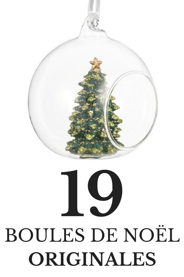 21 Boules de Noël Originales & Insolites (Noël 2019) | Boule de