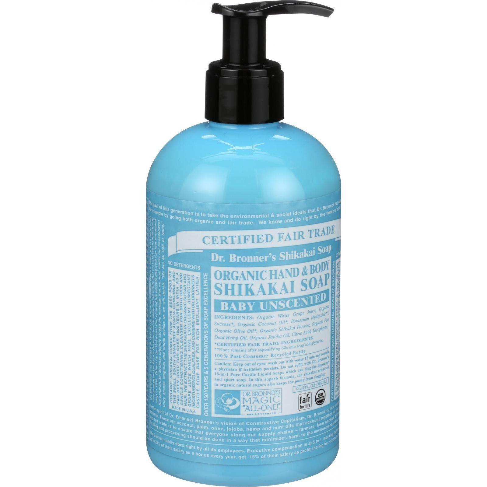 Dr. Bronner's Fair Trade And Organic Shikakai Soap Hand