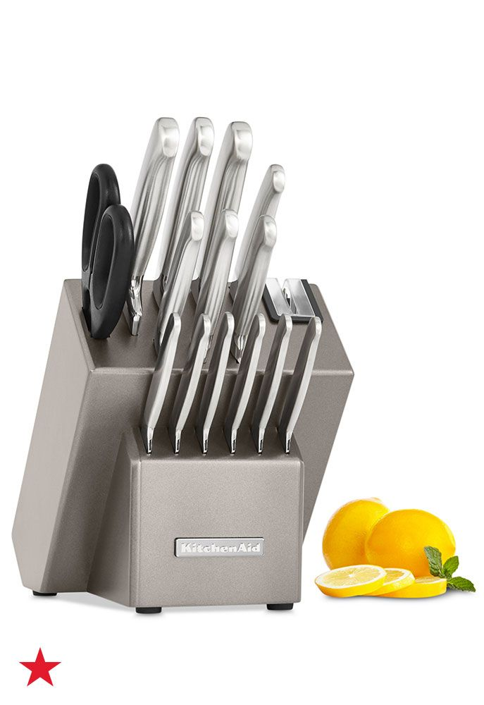 Kitchenaid Kkfss16cs Architect Series 16pc Stainless Steel Rhpinterest: Kitchen Aid Knifes At Home Improvement Advice