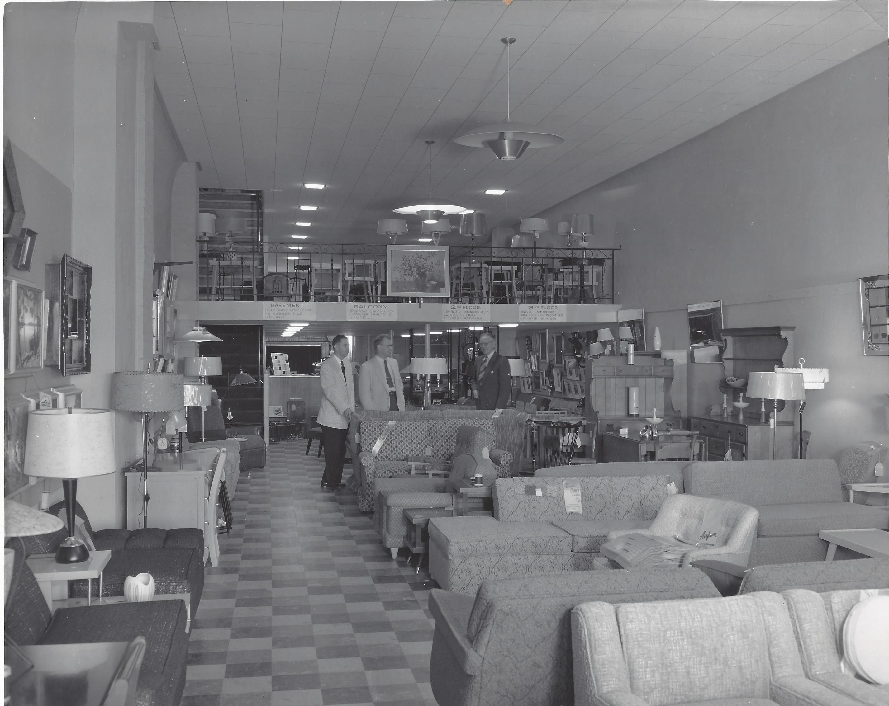 Nice This Photograph Was Taken On October 30, 1955. Larsonu0027s Furniture Had Just  Taken Over