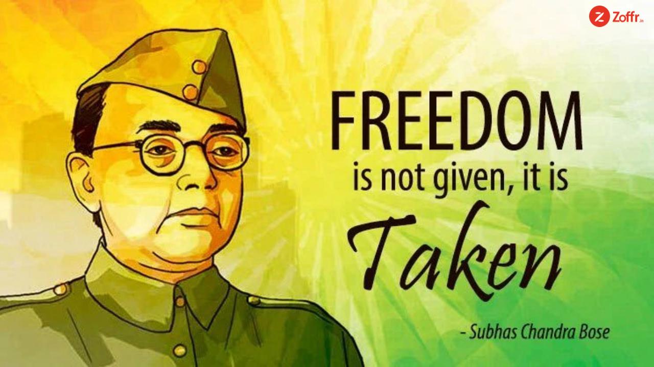 Saluting The Patroit Netaji Subhash Chandra Bose On His 122nd Birth Anniversary 23jan 2k19 Netajisubhas Subhas Chandra Bose This Is Us Quotes Bose