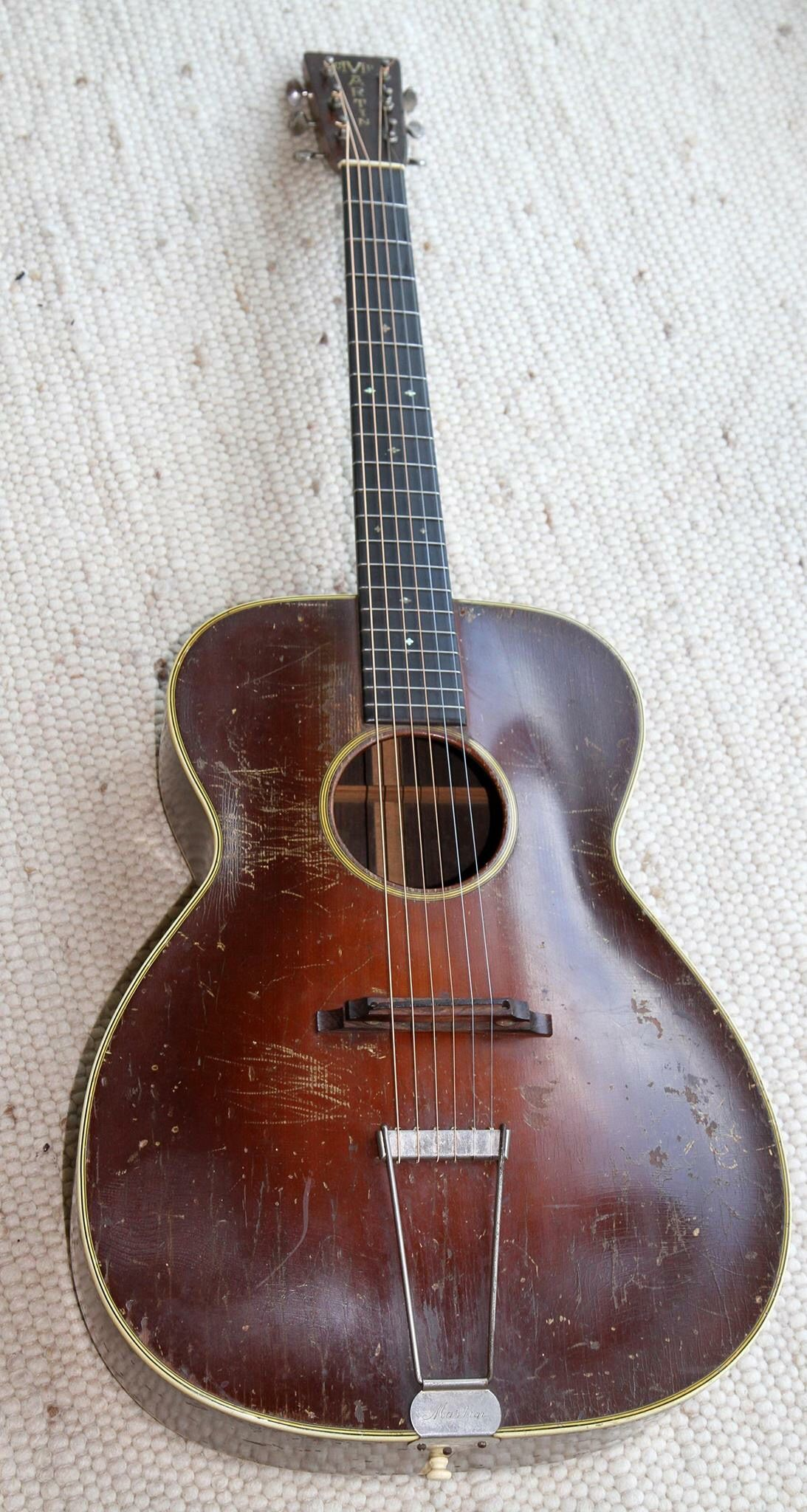 Iconic 1934 pre war Martin 000 guitar Vintage Pinterest