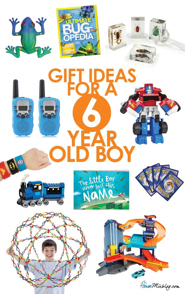 Gift And Toy Ideas For A 6 Year Old Boy