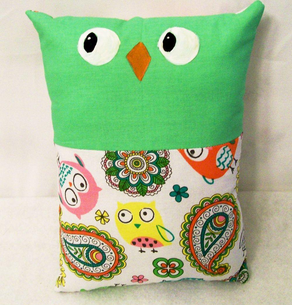 Kids Sleep And Play Buddy Owl Pillow Gift For Stuffed
