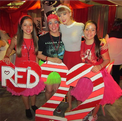 Taylor Swift Club Red! I'm going to Taylor's RED tour on August 31st!! I'm so excited, hope to get into Club RED! :)