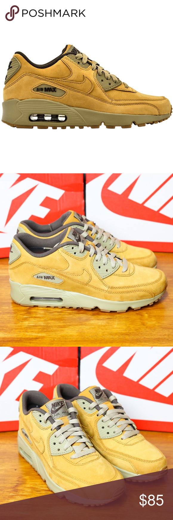 Nike Air Max 90 Winder Premium Bronze Brown Womens Nike Air