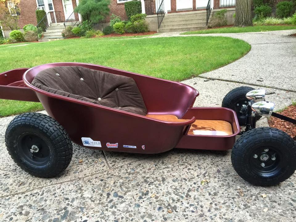 Yes, custom wagon... Kids wagon, Homemade go kart, Diy