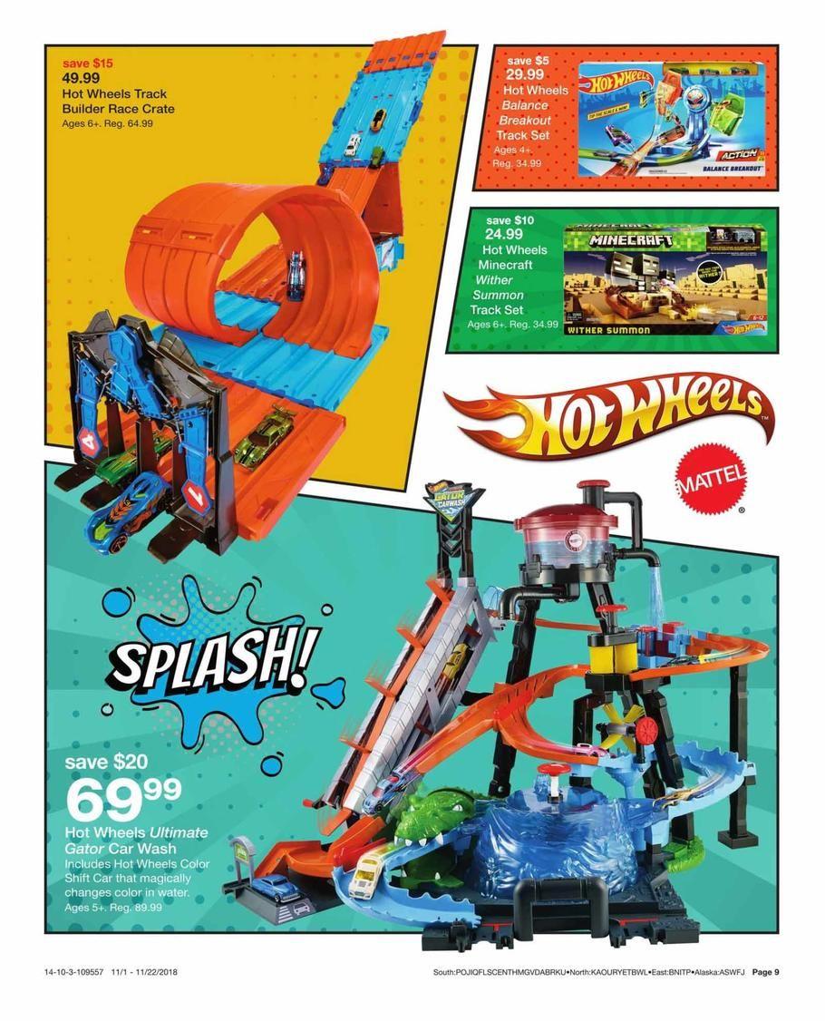 Hot Wheels Hobbys Hot Wheels Ultimate Gator Car Wash Black Friday