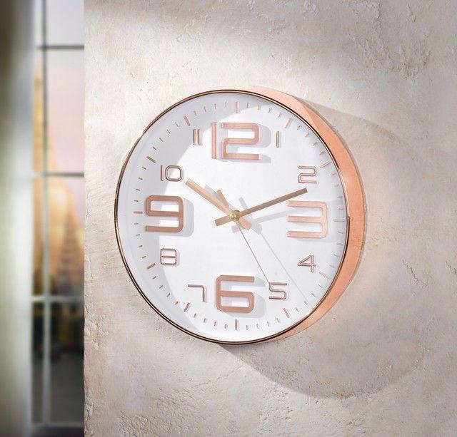Wanduhr Kupfer | Küche in 2019 | Wohnzimmer, Kupfer und Uhren