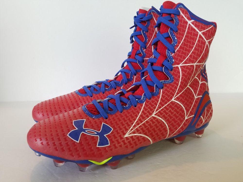 a39b3f589df8 Under Armour SPIDERMAN Football Cleats Alter Ego Highlight MC Clutchfit Mens  UA #Underarmour #FootballCleats # Spiderman