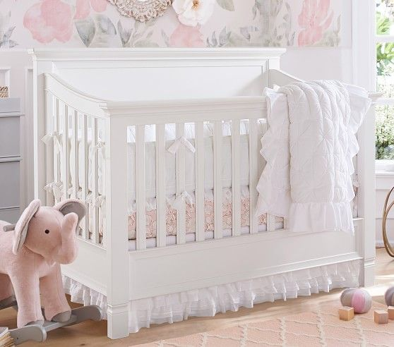 Larkin 4 In 1 Convertible Crib Pottery Barn Kids Larkin Crib Cribs Larkin Crib Pottery Barn