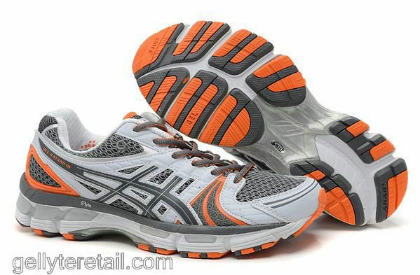 Shoe Orange Grey Running Gel Asics Retail 18 Kayano Lyte nFxnwY4zq