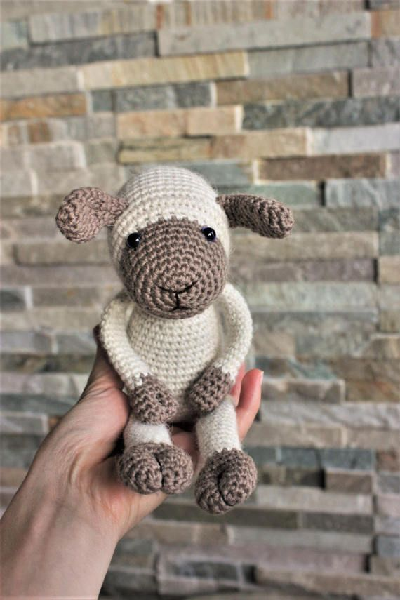PATTERN - Lexie Lamb - Crochet Amigurumi Pattern - Sheep Crochet PDF ...