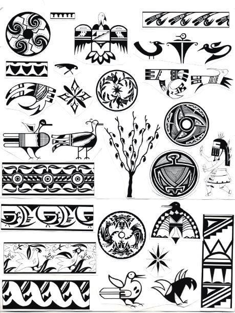 Frummeloeris rajz pinterest tatouages et dessin - Symbole amerindien tatouage ...