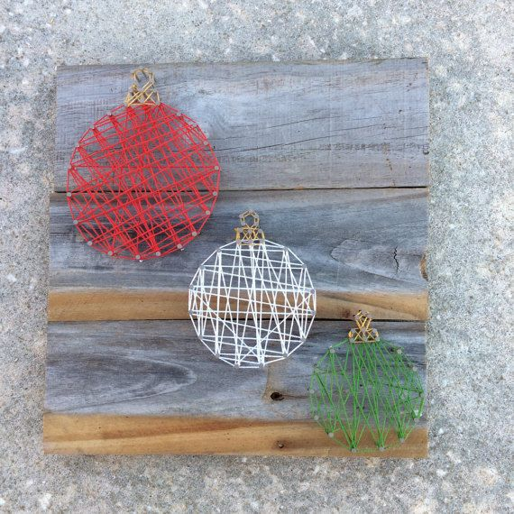 Ornament-String-Kunst #stringart