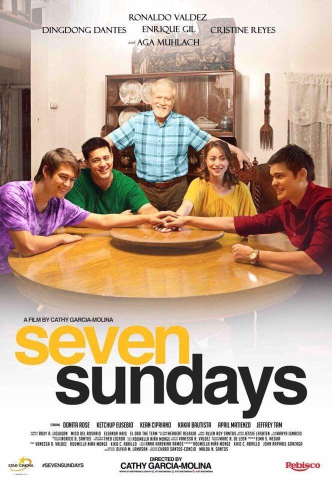 Seven Sundays 2017 Starring Ronaldo Valdez Dingdong Dantes Enrique Gil Cristine Reyes Aga Muhlach
