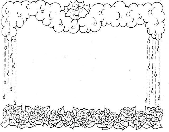 marcos primavera 26 | marcos para hojas | Pinterest | Marcos ...